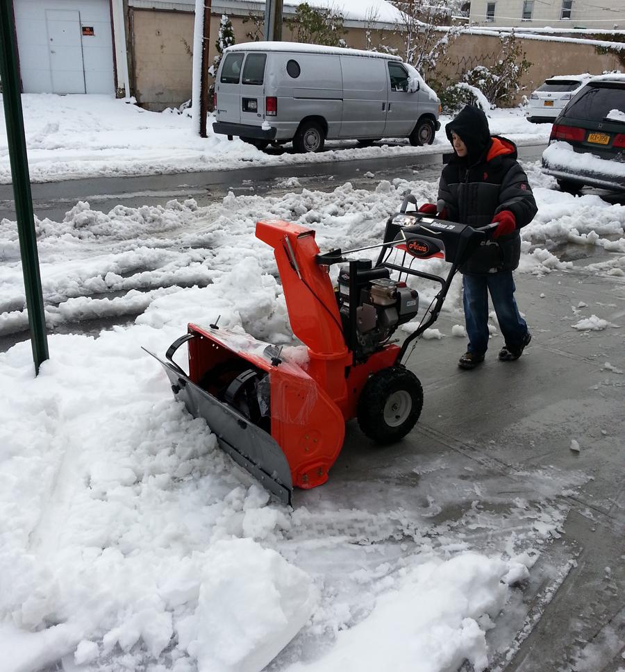 Snow Thrower Accessories : Slush plow snow blower accessories
